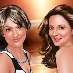Leighton Meester and Minka Kelly: Room Mate Makeup