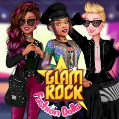 Glam Rock Fashion Dolls