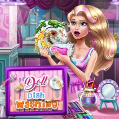 Doll Dish Washing