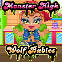 Monster High Wolf Babies