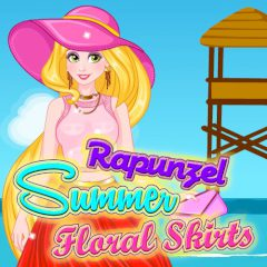 Rapunzel Summer Floral Skirts