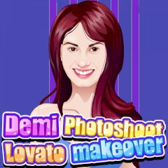 Demi Lovato Photoshoot Makeover