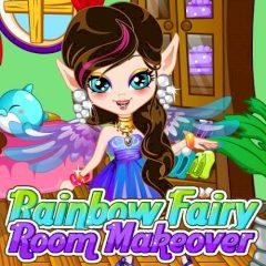 Rainbow Fairy Room Makeover
