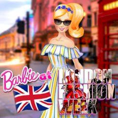 Barbie at London Fashion Week