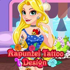 Rapunzel Tattoo Design