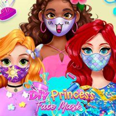 DIY Princesses Face Mask