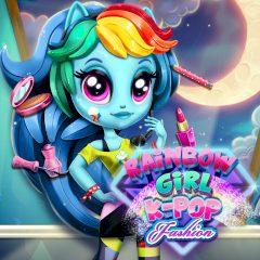 Rainbow Dash K-Pop Fashion