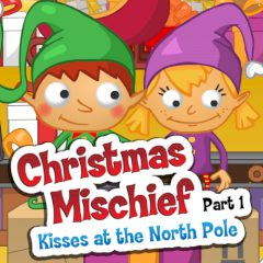 Christmas Mischief. Kisses at the North Pole