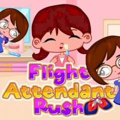 Flight Attendant Rush
