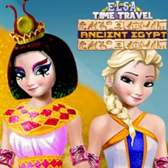 Elsa Time Travel Ancient Egypt
