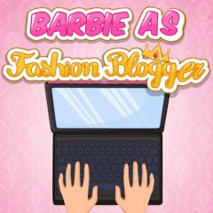 Barbie as Fashion Blogger