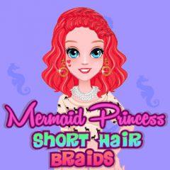 Mermaid Princess Short Hair Braids