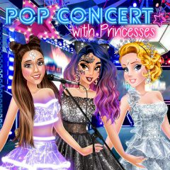 Pop Concert with Princesses