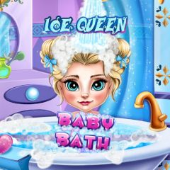 Ice Queen Baby Bath