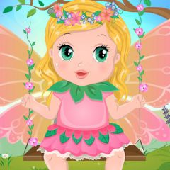 Baby Bonnie Flower Fairy