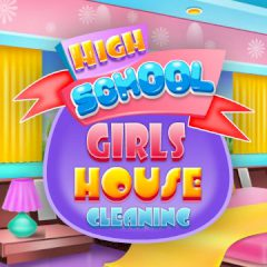 High School Girls House Cleaning