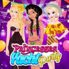 Princesses Yacht Party