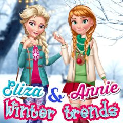 Elsa & Anna Winter Trends