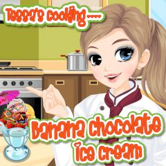 Tessa's Cooking: Banana Chocolate Ice Cream