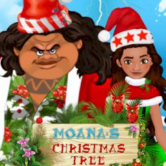 Moana's Christmas Tree