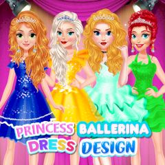 Princess Ballerina Dress Design