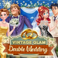 Vintage Glam Double Wedding