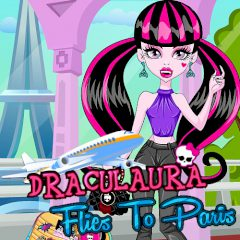 Draculaura Flies to Paris
