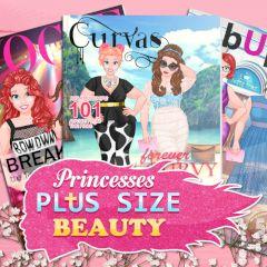Princess Beauty Plus Size