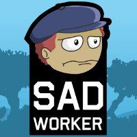 Sad Worker