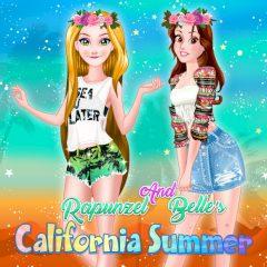 Rapunzel and Belle's California Summer