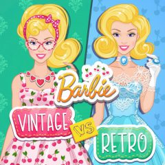 Barbie Vintage vs Retro