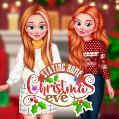 Staying Home Christmas Eve