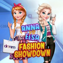 Anna vs Elsa Fashion Showdown