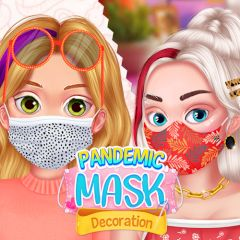 Pandemic Mask Decoration