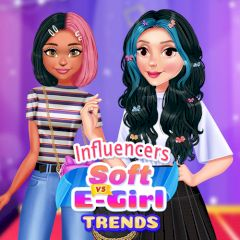 Influencers Soft vs E-Girl Trends