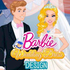 Barbie Wedding Dress Design