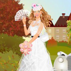 Vintage Wedding Dress up