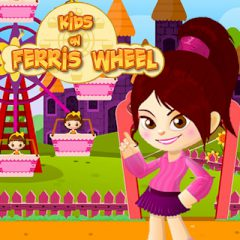Kids on Ferris Wheel