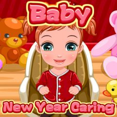 Baby New Year Caring