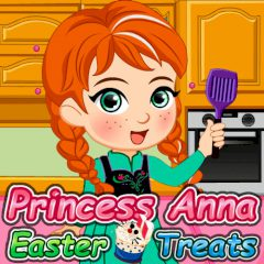 Princess Anna Easter Treats