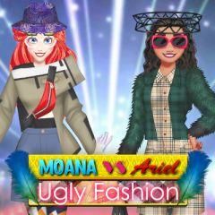 Moana vs Ariel Ugly Fashion