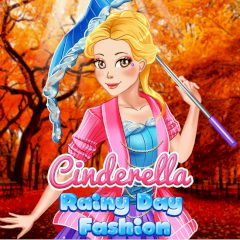 Cinderella Rainy Day Fashion