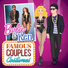 Barbie & Ken Famous Couples Costumes