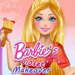 Barbie's Closet Makeover