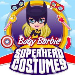 Baby Barbie Superhero Costumes