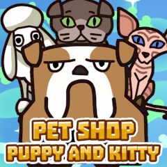 Pet Shop Puppy and Kitty