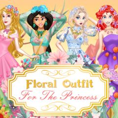 Floral Outfit for the Princess