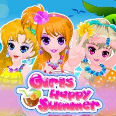 Girls Happy Summer