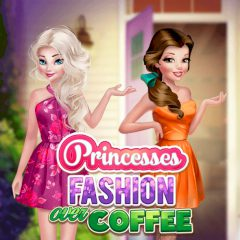 Princesses Fashion Over Coffee