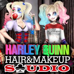 Harley Quinn Hair & Makeup Studio